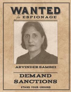 Wanted Arvinder Sambei