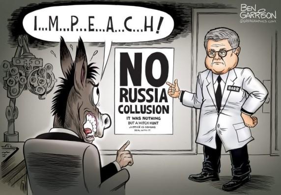 barr democrat impeach garrison