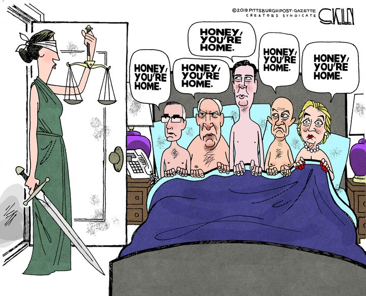 comey hllary brennan clapper in bed