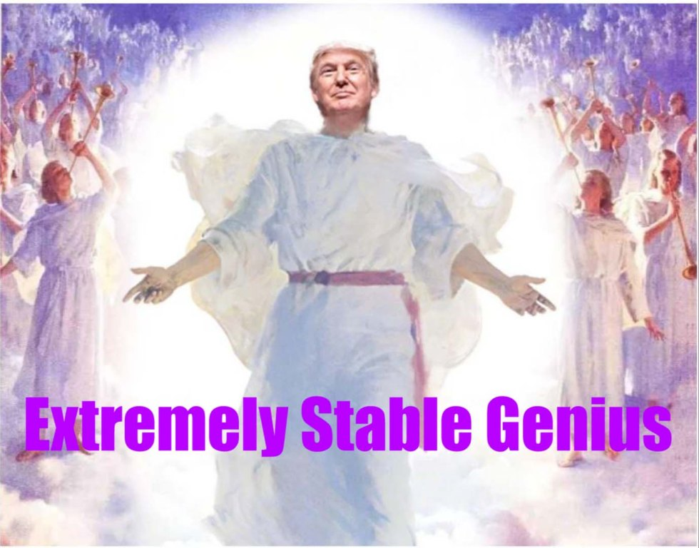 extremely stable genius trump