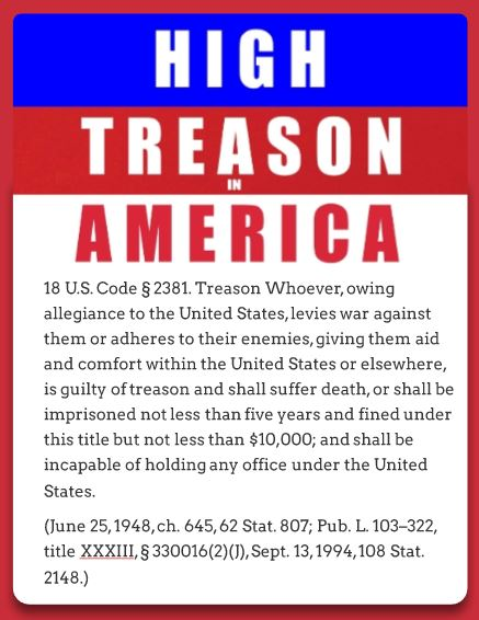 high treason penalties