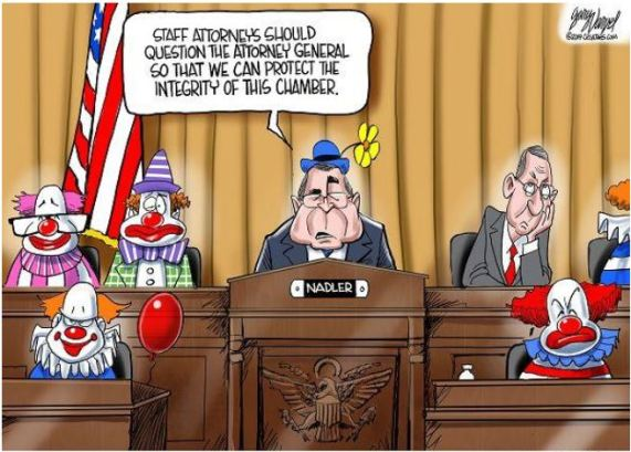 nadler and the clowns