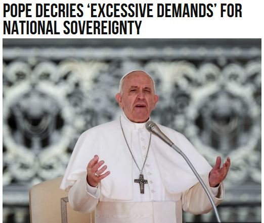 pope nationalism
