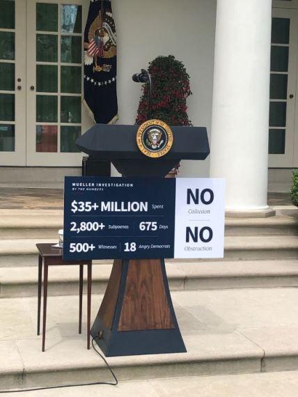 presidential podium