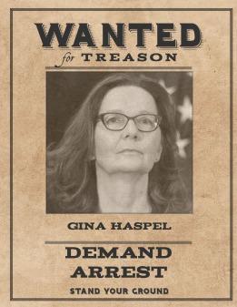 Wanted Gina Haspel