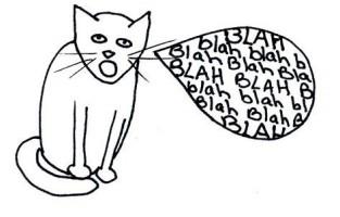 blah cat