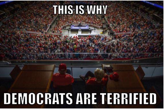 democrats terrified