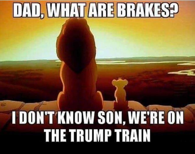trump train.JPG