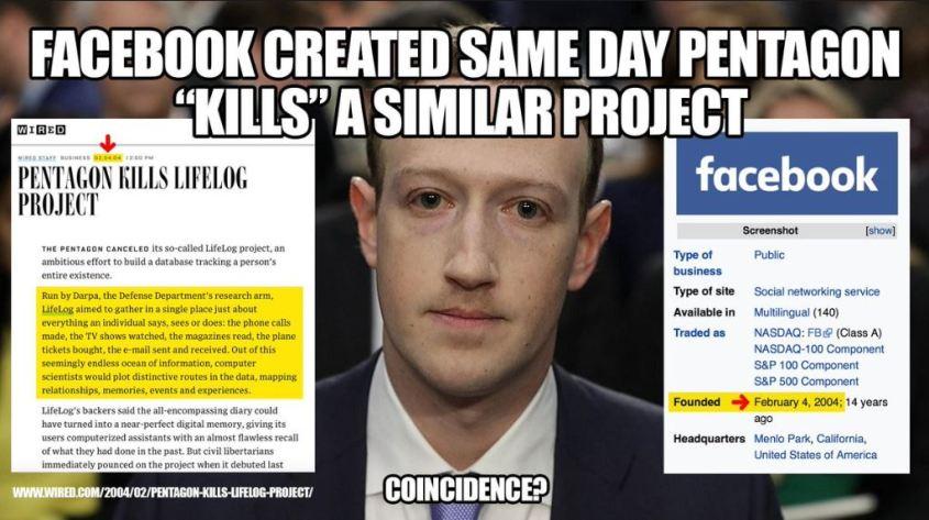 zuckerberg lifelog facebook