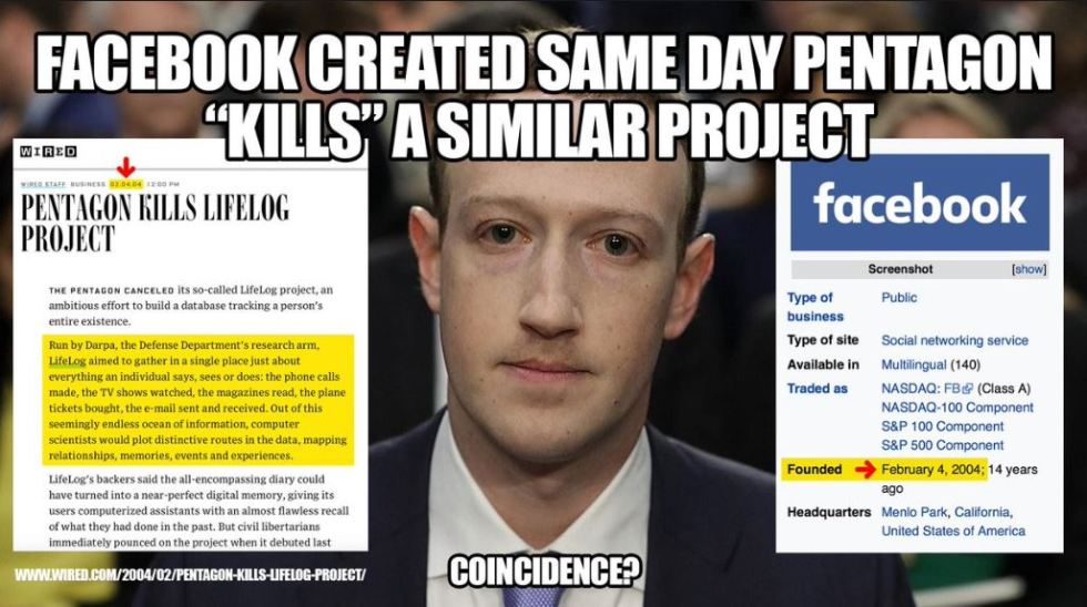 zuckerberg lifelog facebook