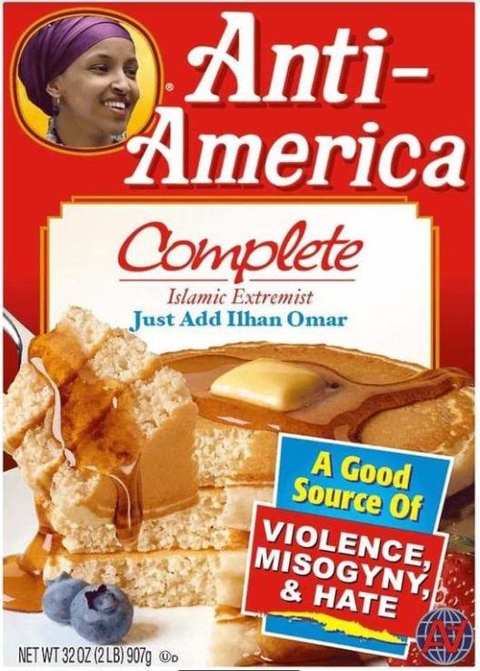 anti american omar pancakes.JPG