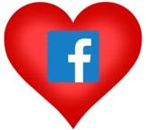 facebook heart love