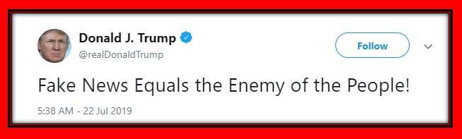 fake news enemy trump
