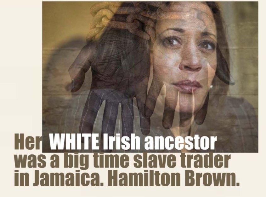kamala white ancestor