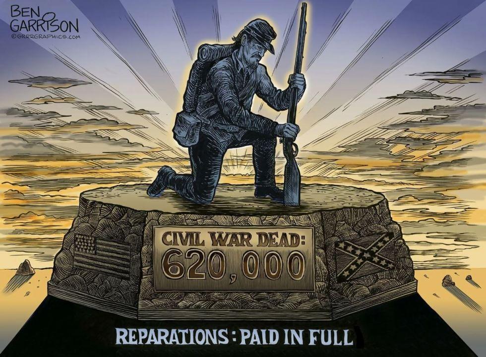 reparations garrison