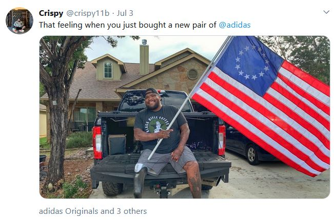 soldier with shoes Betsy Ross.JPG