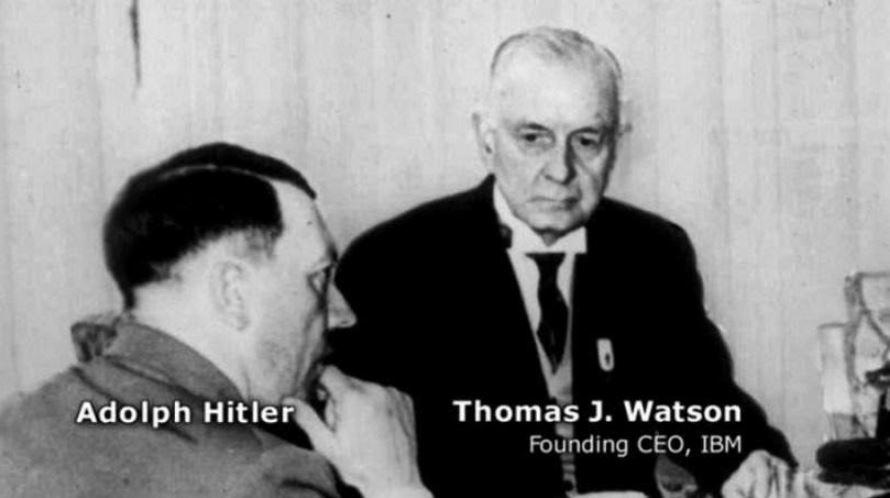 thomas watson adolph Hitler
