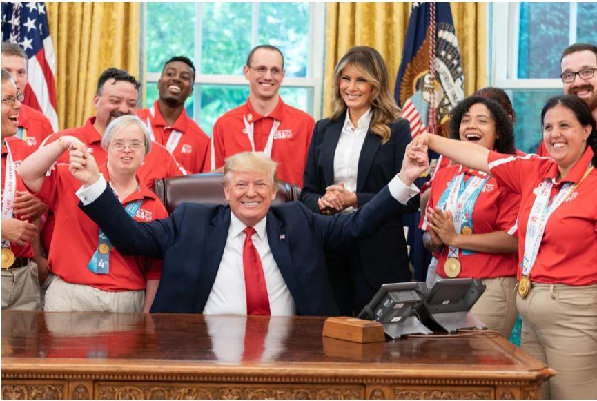 trump us special olympics team.JPG