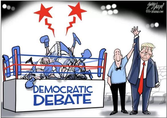 democrat debate trump wins.JPG