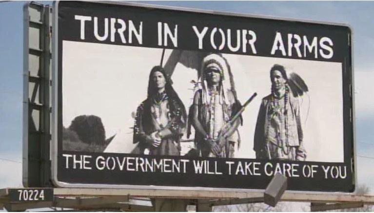 GUNS INDIANS