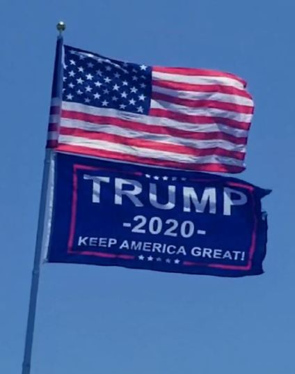 us trump flags