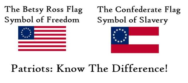 betsy ross confederate flags