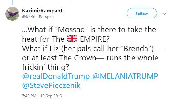 mossad empire