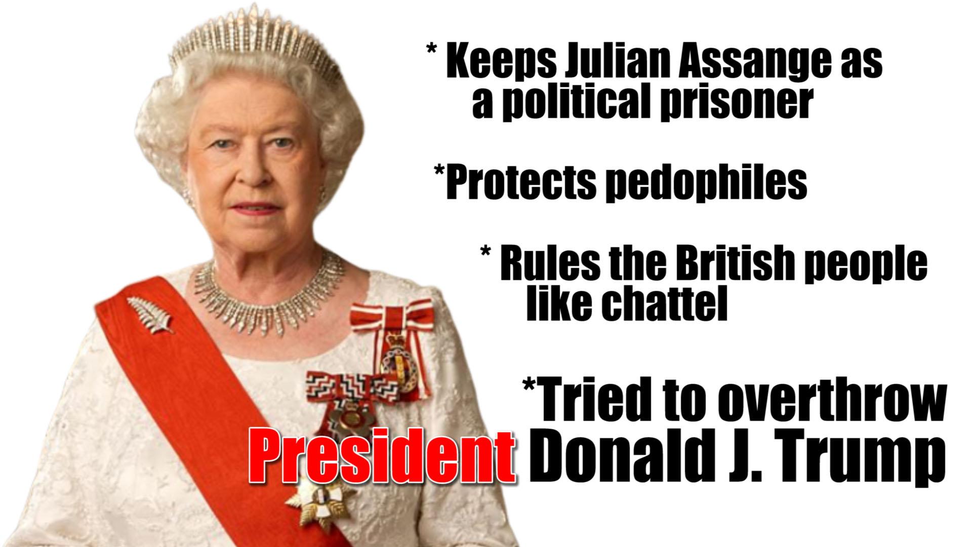queen elizabeth overthrow