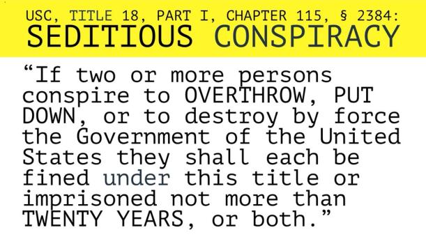 seditious conspiracy