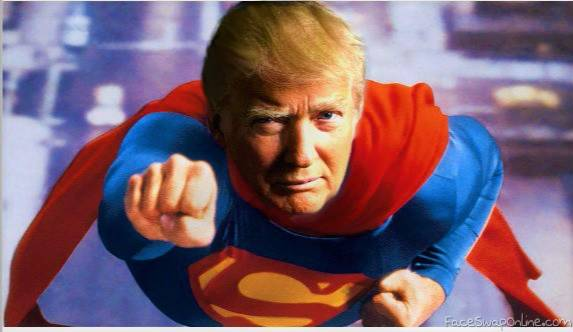 trump superman
