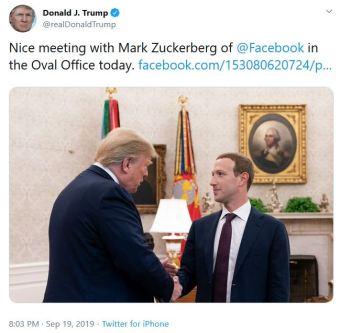 trump zuckerberg tt