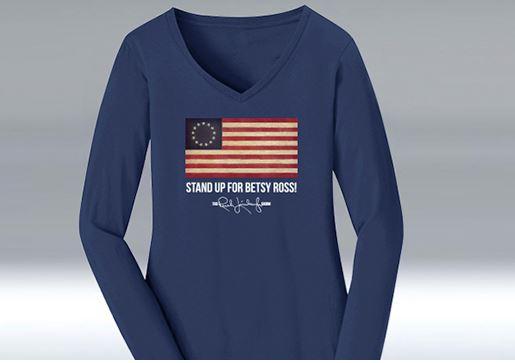 v-neck betsy shirt