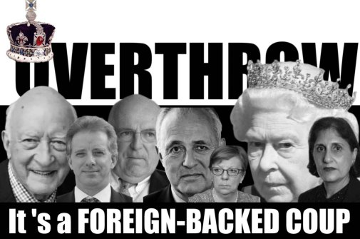 foreign coup british queen