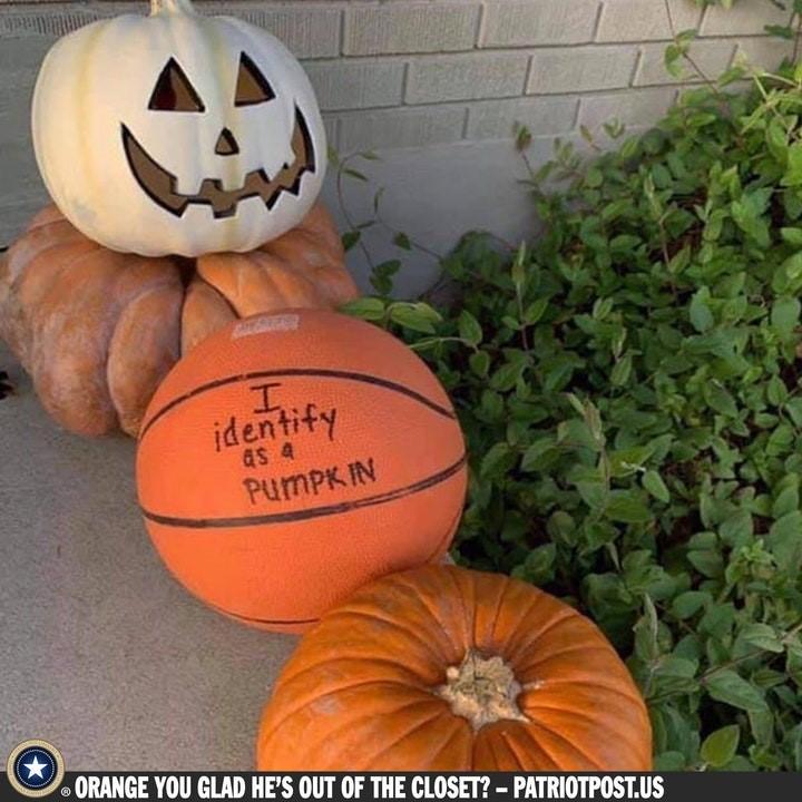 identify as pumpkin