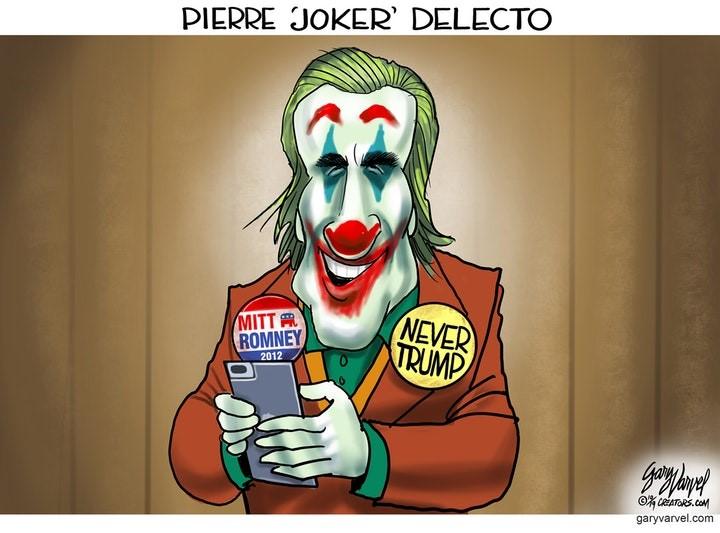 romney joker delecto