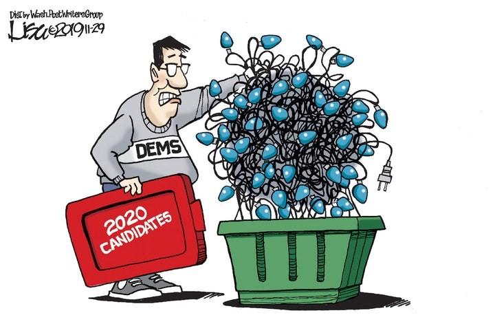 democrat candidates 2020