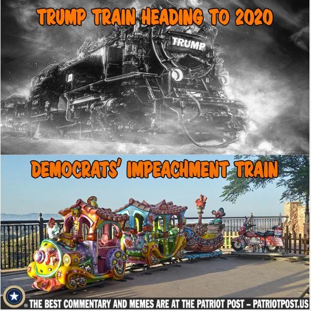 trump train impeachment train