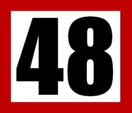 48 red border