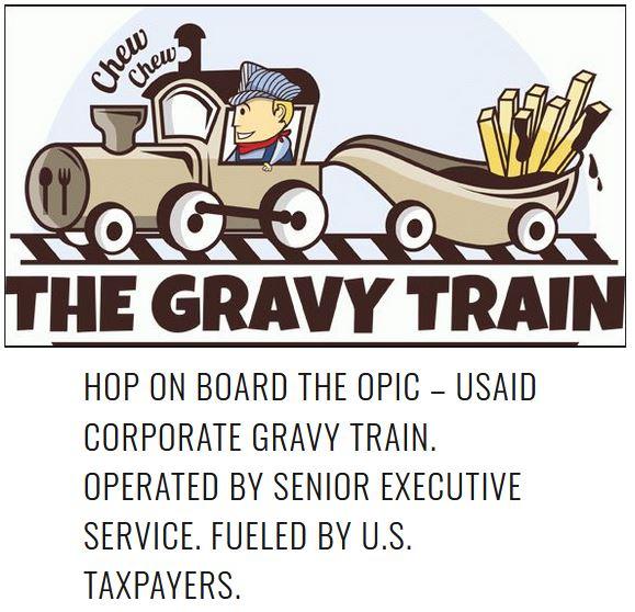 gravy train opic usaid.JPG