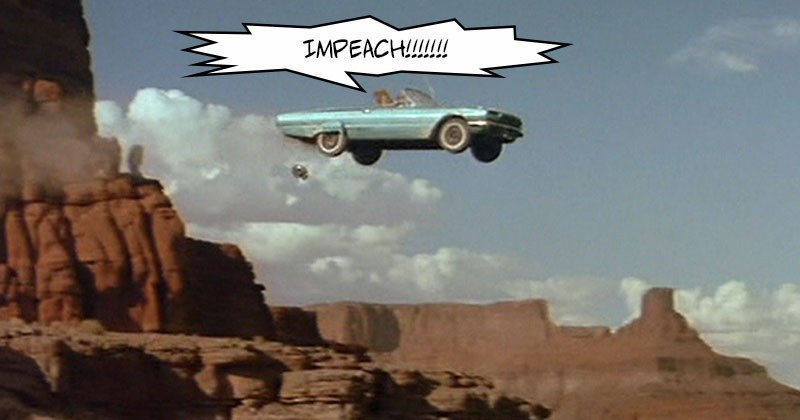 impeach car cliff