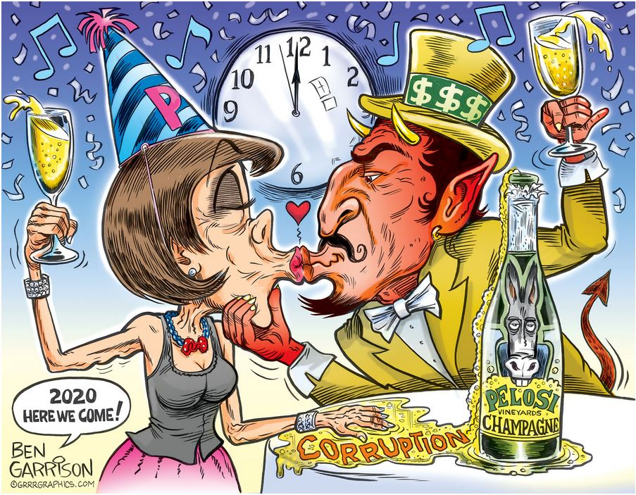 pelosi party with devil 2020.JPG