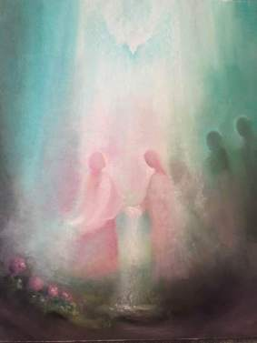 rose-angels-veil-painting-Karine-Munk-Finser