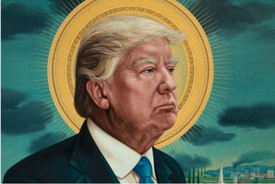 saint donald trump 1