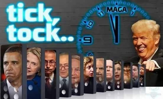 tick tock domino trump