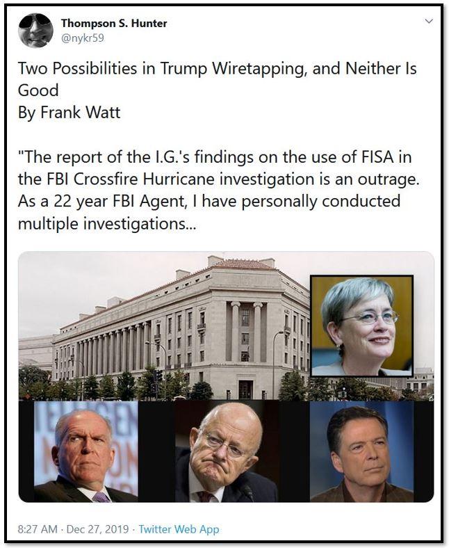 wiretapping tweet