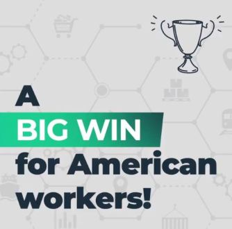 big win for american workers