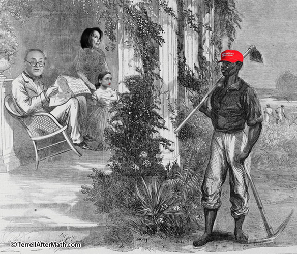 black maga plantation aoc pelosi schumer