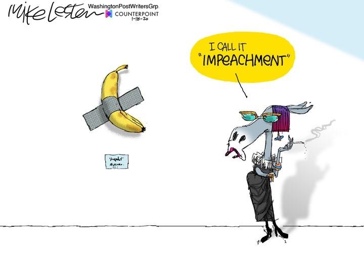 impeach banana