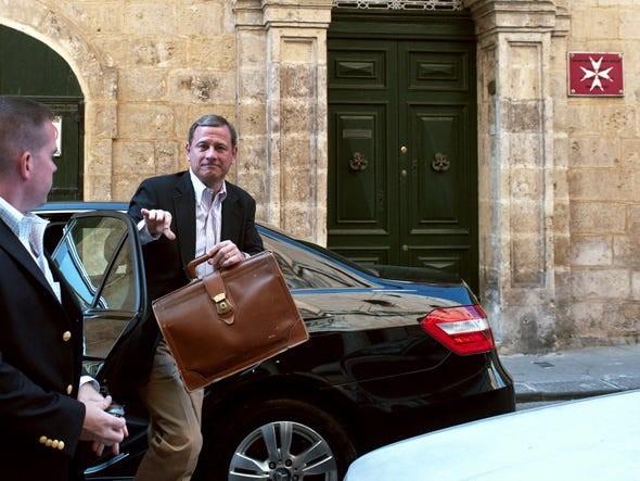 john roberts in malta