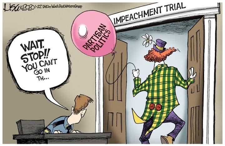 senate clown circus